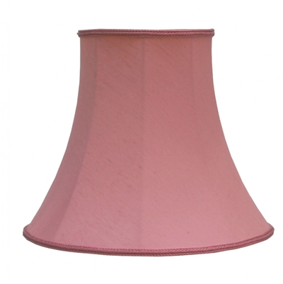 Bowed Empire Candle Shade Rose Dupion